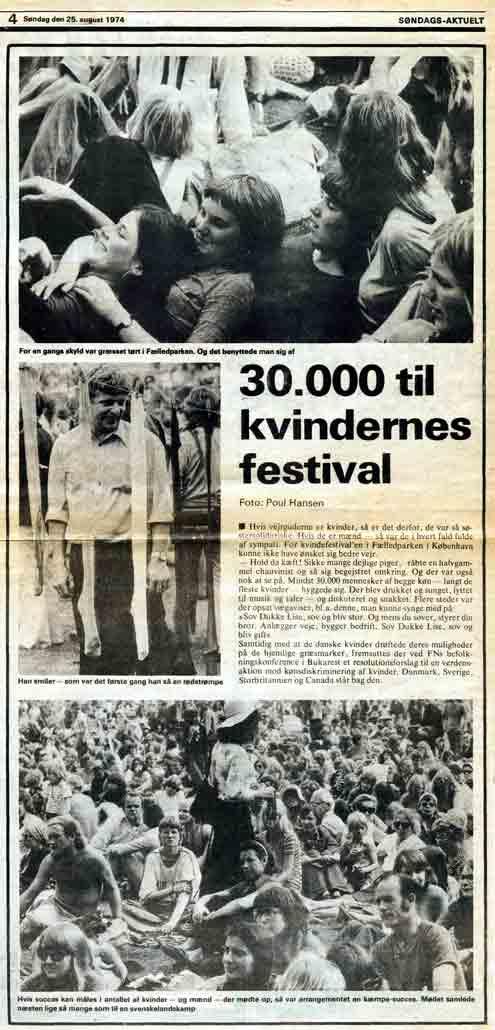 Zeitung zu Festival Kopenhagen